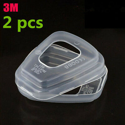 3M 501 Filter Retainer Plastic Cover FOR 5N11 3M 7502 6200 6800 Series Gas Mask3