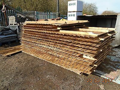 Fence Panels Wooden X 10