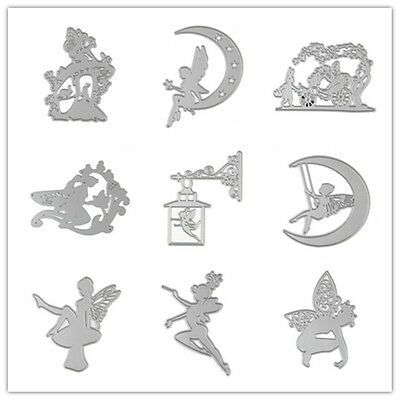 Metal Fairy Die Cuts Stencil Craft Cards Album Scrapbooking Stencils Embossing