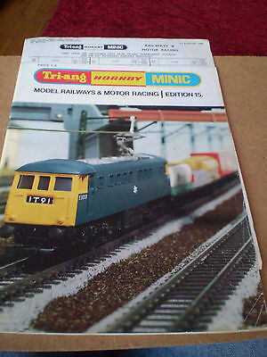 TRIANG/HORNBY/MINIC MODEL RAILWAYS CATALOGUE 1969 15th EDITION +P/LIST EXCELLENT