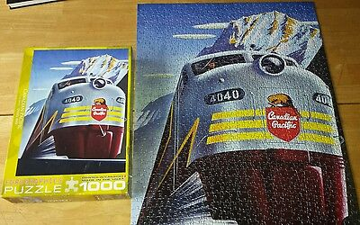 Canadian Pacific Train 1000 Piece Jigsaw Puzzle