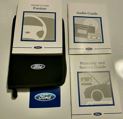 Ford Fusion Owners Handbook, Audio Book 2002-2005