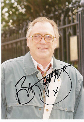 BILL TARMEY HAND SIGNED PHOTOGRAPH 8 x 6 & HAND SIGNED TYPED LETTER