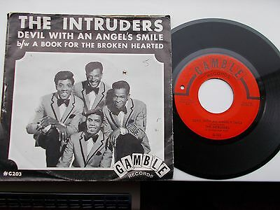 The Intruders Devil With An Angels Smile Us 45 Gamble Northern Soul