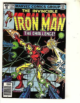 Iron Man   #134    about  8.5      UnRestored, Nice ( 12)