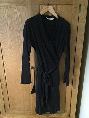 Blooming Marvellous Navy Dressing Gown Medium