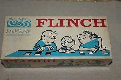 Flinch The Famous Card Game By Parkers Brothers Vintage 1963
