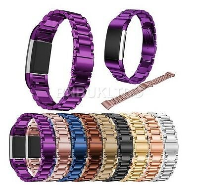Stainless Steel Replacement Wrist Band Strap For Fitbit Charge 2