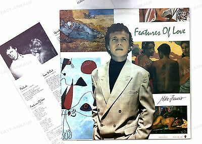 Mike Francis - Features Of Love AUT LP 1989 + Innerbag //1