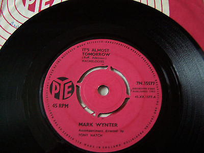 Mark Wynter - It's Almost Tomorrow / Music To Midnight