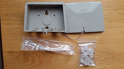 BT 66B Grey External Joint/Junction Box Complete with 10 x 8B Jelly Crimps