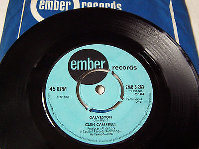 Glen Campbell - Galveston -/ Every Time I Itch I Wind Up Scratchin You