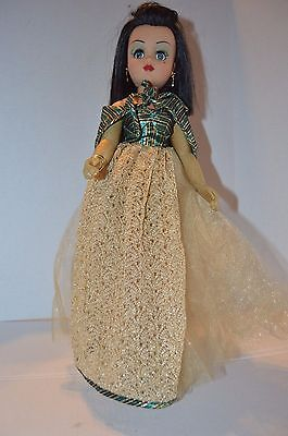 """2000 LE Madame Alexander CAIRO CISSY 21"""" Doll Couture Collection VGUC"""