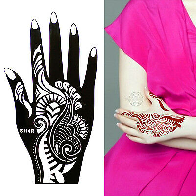 Henna Tattoo Schablone Vorlage Airbrush Tattoo Body Paint Rechte Hand S 114 R