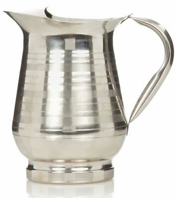 Stainless Steel Jug Water Juice Serving Party BBQ Dinner Family Beverage Pitcher