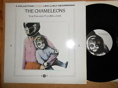 THE CHAMELEONS The Fan And The Bellows - EX/VG Condition 1986 Hybrid Vinyl LP