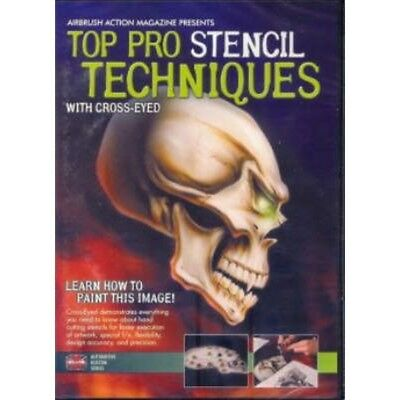 DVD Top Pro Stencil Technique with Cross-Eyed 220 021