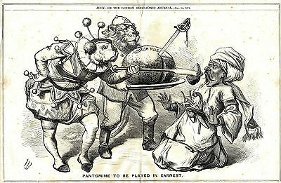 The British Raj (A Pantomime to be Played in Ernest)  Judy Mag - 24th Dec. 1879