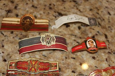 Lot of a hundred Cigar labels/ bands Old and New!! Lot # 106