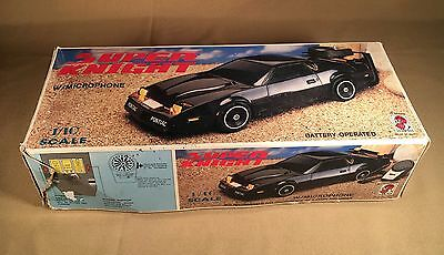 Vintage bootleg knight rider car Super Knight with microphone used original box