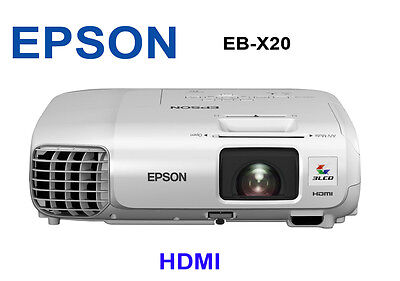 EPSON X25 HDMI PROJECTOR 3500 LUMENS home office beamer multimedia school