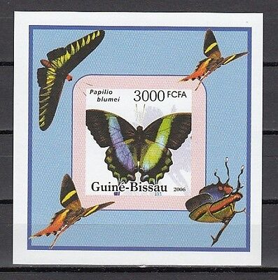 / Guinea Bissau, Michel cat. 3390. Butterfly value as a s/sheet.