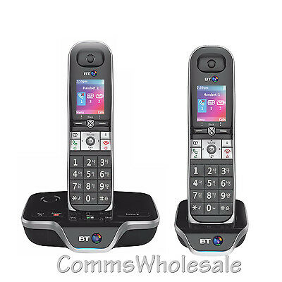 BT8600 (BT 8600) DECT Cordless with TAM with Nuisance Call Blocking etc -Twin