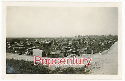 Pre WW2 China Photograph 1927 Tientsin Chinese Grave Yard Tianjin