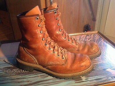 Vintage Red Wings. Irish Setter Leather Boots 3. 2