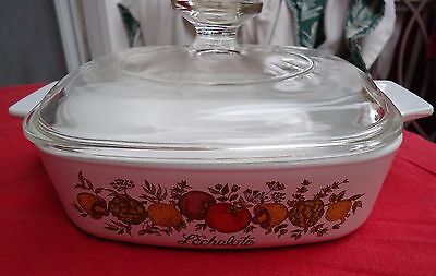 Corning Ware Spice Of Life 1 Quart Covered Casserole W/Lid