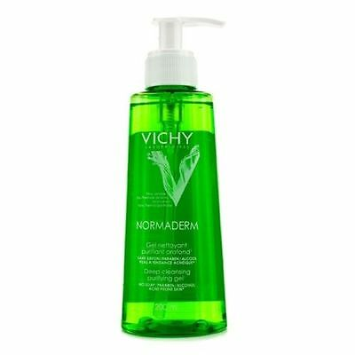 Vichy Normaderm Deep Cleansing Purifying Gel 200ml, for prone skin  New Premium