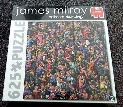 New & Sealed Ballroom Dancing 2 By James Milroy 625 Piece Jigsaw Puzzle