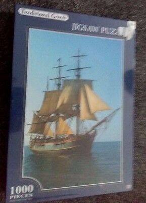 Sailing Ship 1000 Piece Jigsaw Puzzle New & Sealed By Traditional Games