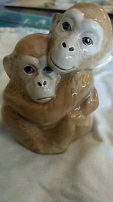 Szeiler Hugging Monkeys