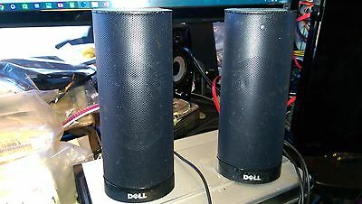 Dell Ax210 Laaptop Computer Speaker System Usb Powered, No Ac Needed