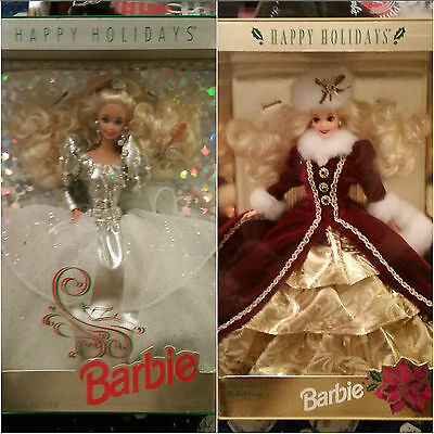 Lot Of 25 Dolls, Barbie, more NRFB, 1990s, All Pictured