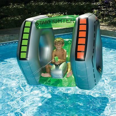Print Starfighter Super Squirter Inflatable Pool Toy