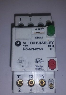 Allen Bradley CAT 140-MN-0250, Manual motor starter