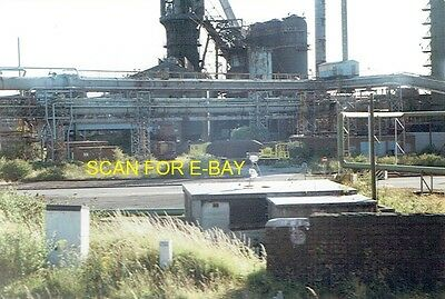 Railway Photo Hot Metal Ladles Nos 35 & 05 at Margam Steelworks Port Talbot 1998