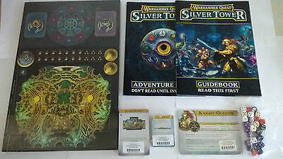Warhammer Quest: Silver Tower: Age of Sigmar: Boxed Game Without Minatures