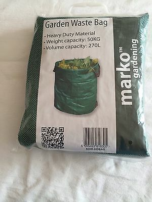Garden Waste Collection Bag Heavy Duty 270 Litre 50 Kg