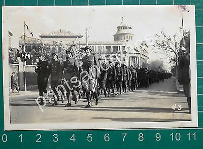 1939 PHOTO CHINESE INFANTRY TIENTSIN CHINA MILITARY FUNERAL Cpl T SCOTT DLI