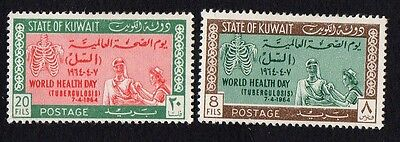 Kuwait stamps. 1964 World Health Day. MLH
