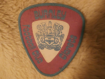 @ VINTAGE SEW ON PATCH - BURNLEY (claret & white)