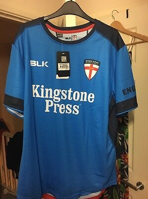 England Rugby League Training Top Size Xl Brand New 2017