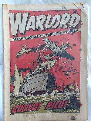 WARLORD Comic - Issue 23 Date 01/03/1975 - UK Paper Comic from D C Thomson & Co