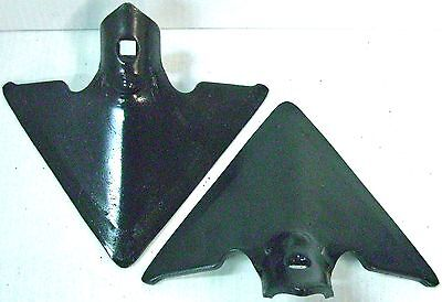 "2 - 7"" Danish Sweep Single Hole 1/4"" Thick 7/16"" Square Hole Cultivator"