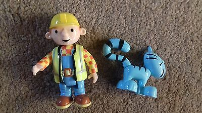 BOB THE BUILDER FIGURES - FOR CHILD - WENDY AND CAT - balloon bag