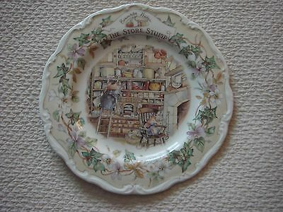 Brambly Hedge 8 Inch The Store Stump Plate