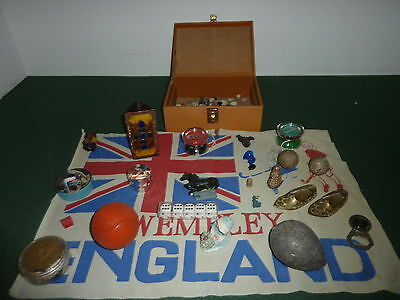 Job Lot of 25+ Mixed Vintage Collectable Miscellanious Items Toys Lead Weight